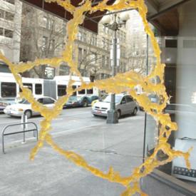 Interior Cracked Pavement Sculpture